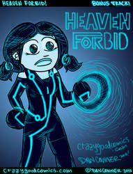 heaven forbid tron art by holyd490