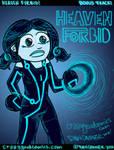 heaven forbid tron art by holyd490