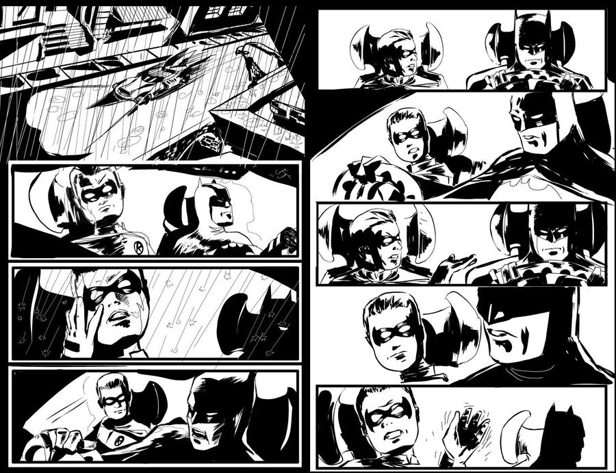 Blackest Night 1 11-12 bw by ickhwano