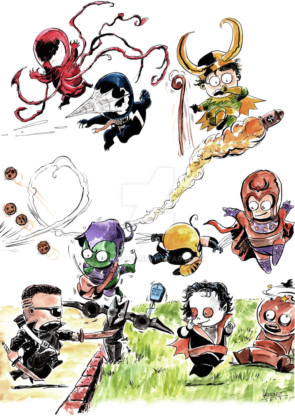 cute marvel characters wallpaper
