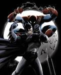 Batman vs spidey color