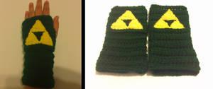 Zelda Triforce Gloves