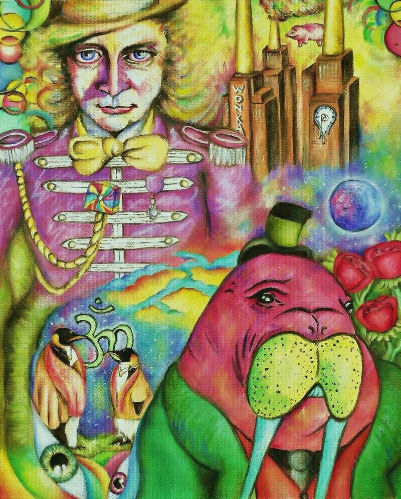 Walrus and Wonka by callum8am