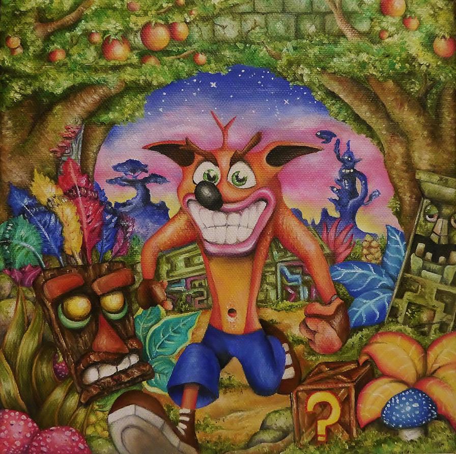 Crash Bandicoot by callum8am