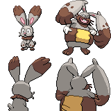Diggersby tho? #659 - 660 Sprites 80x80