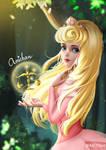 Princess Aurora - Zodiac Princess by Amichan-art
