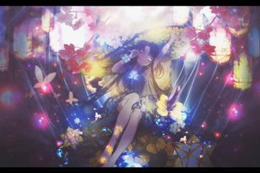 [ Signature ] Girl into flower by SachikoRitsu