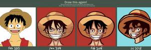 Draw this again -Luffy