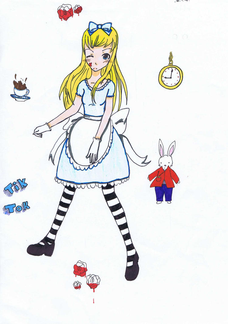 Alice in Wonderland by thami67