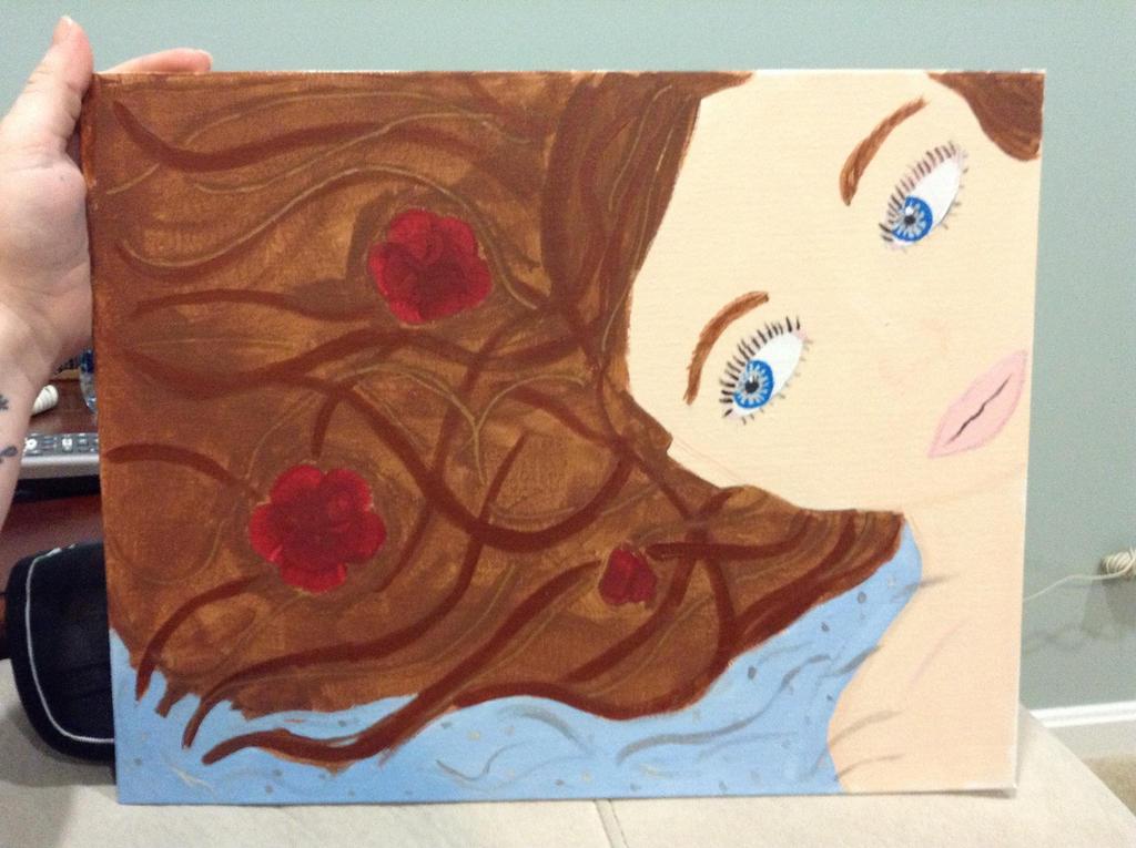 Flower bath by Leanneisme