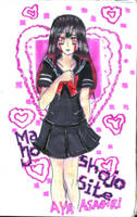 Mahou shoujo site aya by sephiroth72603