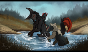 [Commission] Water Fun