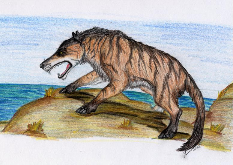 Andrewsarchus by thylobscene