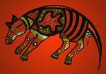 Aboriginal Art Thylacine
