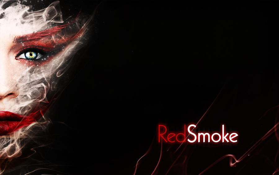Red Smoke by Nam-Cam