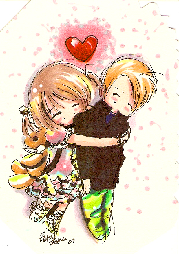 surprise hugs by betsumi on deviantart