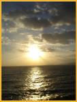 Cloudy sunrise over Ocho Rios by Queen-Mum