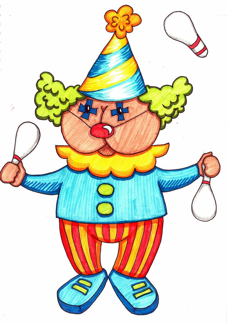 Arse Clown 2 by ApianJunkyard