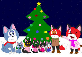 Merry Christmas Eve 2017 by LisaDots123