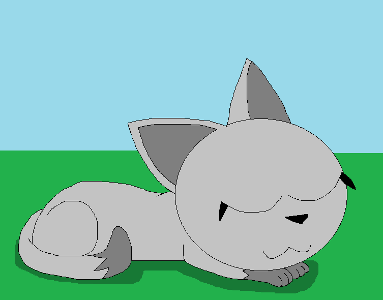 Nap time for Kitty by LisaDots123
