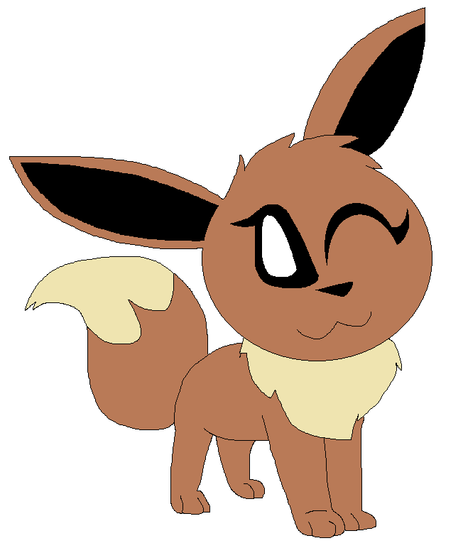 Female Eevee by LisaDots123