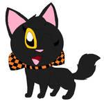 Midnight's Halloween ribbon