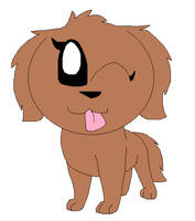 A doggy by LisaDots123