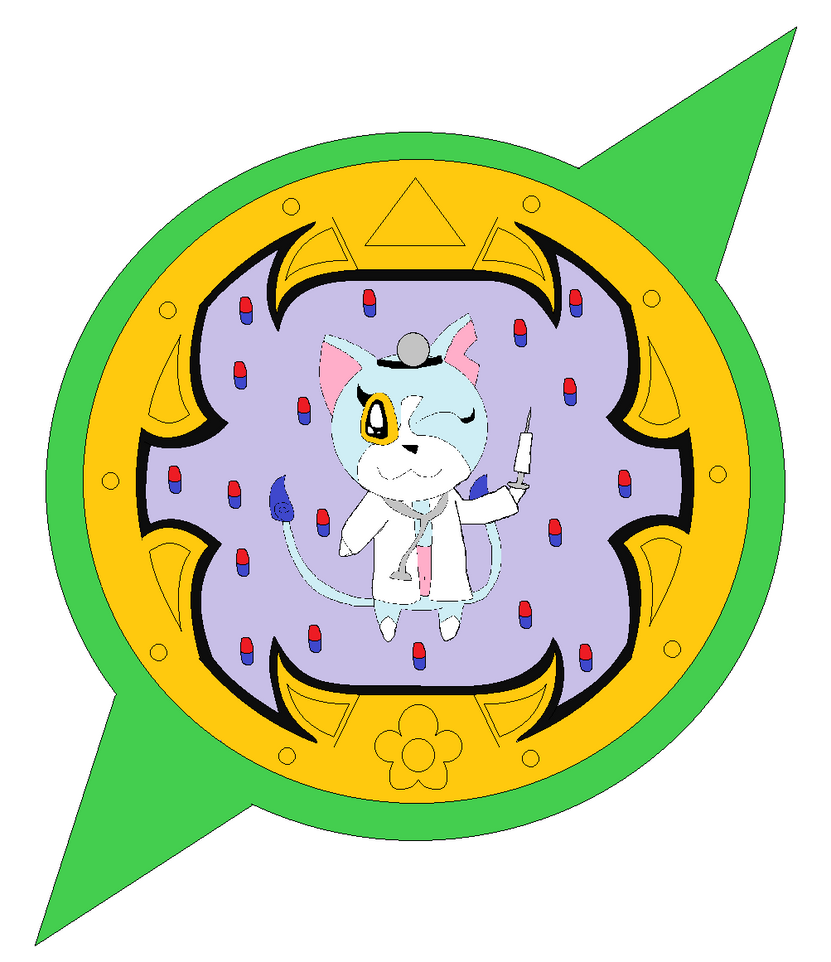 Doctoryan's Medal by LisaDots123