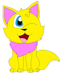 Rocky the wocky cat by LisaDots123