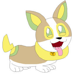 Yipper the Yamper by LisaDots123