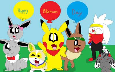 Happy Pokemon Day 2021