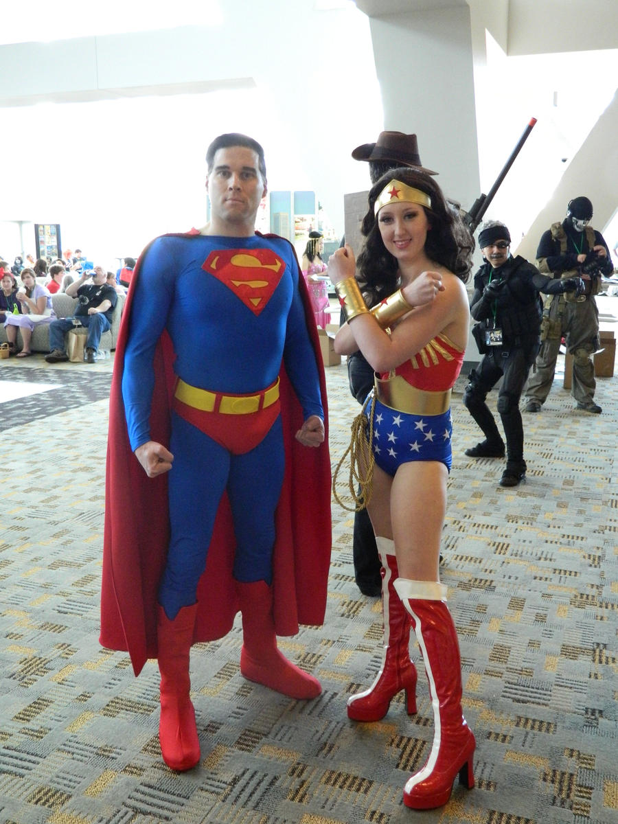 Wonder Woman and Superman by OtakuUnited on DeviantArt