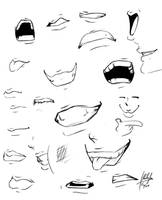 mouths o_O? by Blasian89