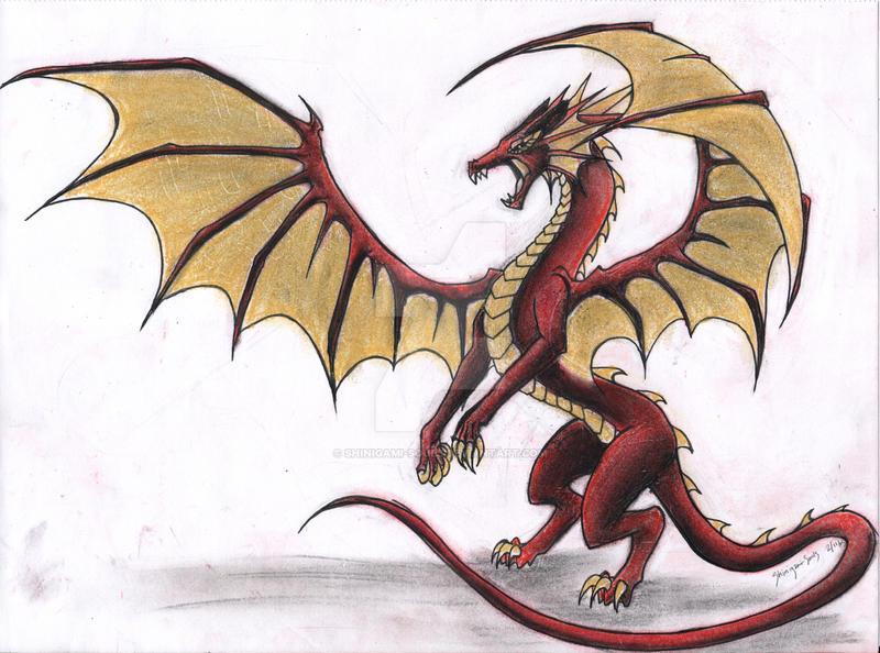 Aka Kin - Dragon by Shinigami-Souls