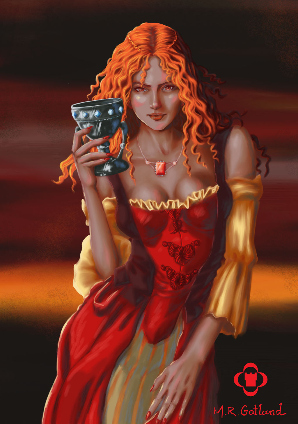 Melisandre of Asshai - A Song of Ice and Fire