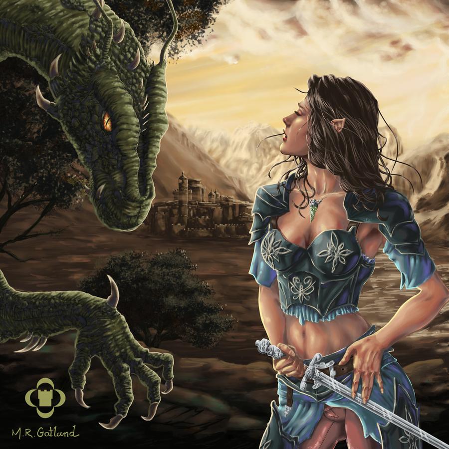 Arya Drottningu and Fi... Eragon And Arya Drawings