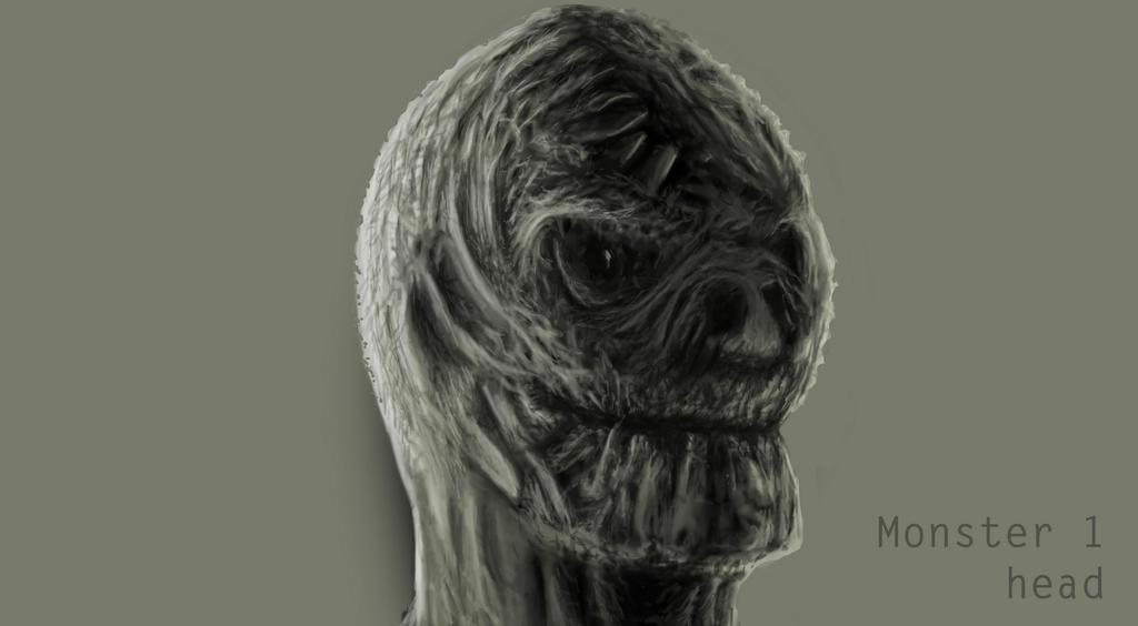 Monster 1 Head