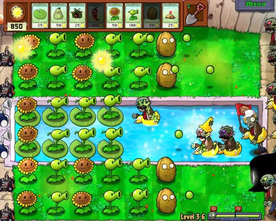 plant vs zombie3