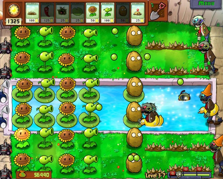 Plants vs. zombies 3-7 by mataemrosebud