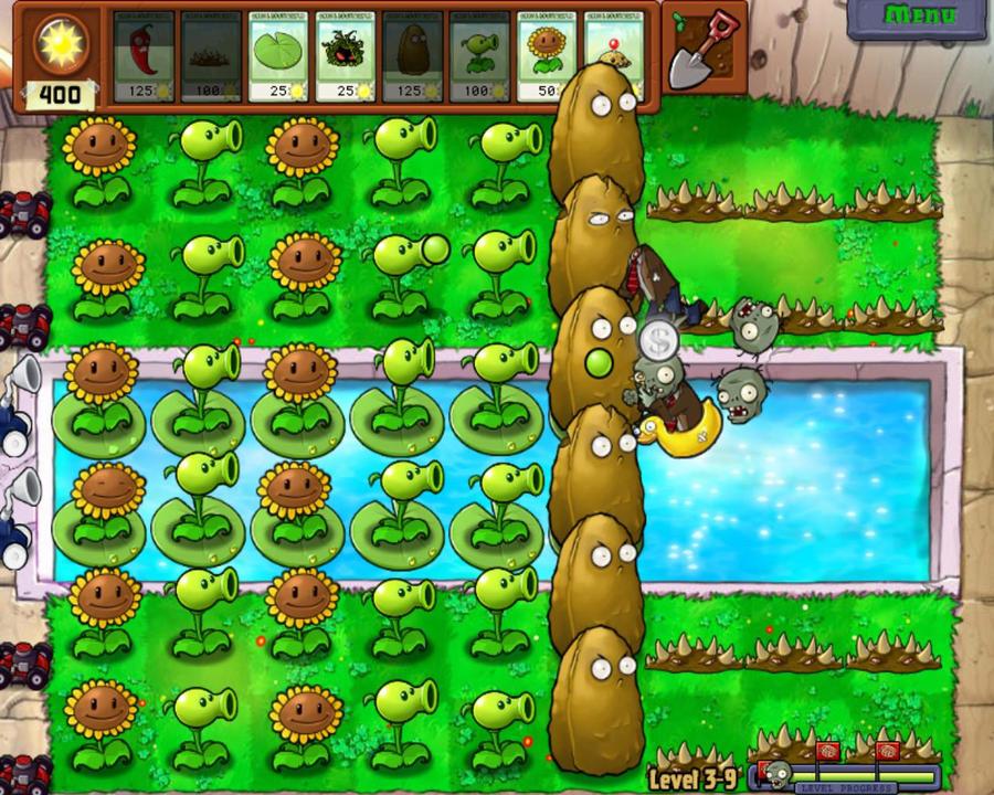 Игру Plants Vs Zombies (Полная Русская Версия)