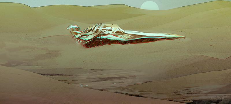 spaceship explorer by tatitati