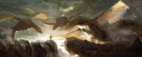 The sixth dragon by tatitati