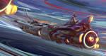 Space ship Horizon