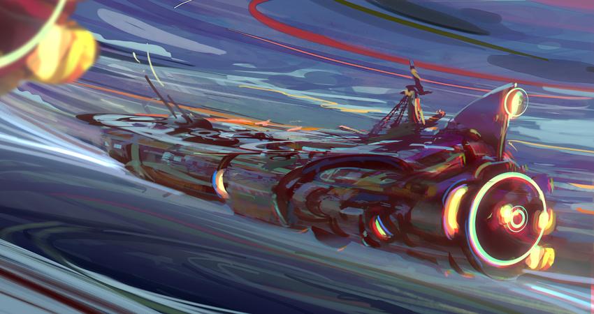 Space ship Horizon by tatitati