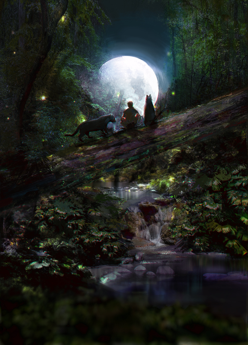 Two moons by tatitati