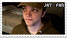 Jay Fan Stamp by animal-nitrate