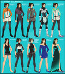 VLD OC Clara Extra Outfits Reference