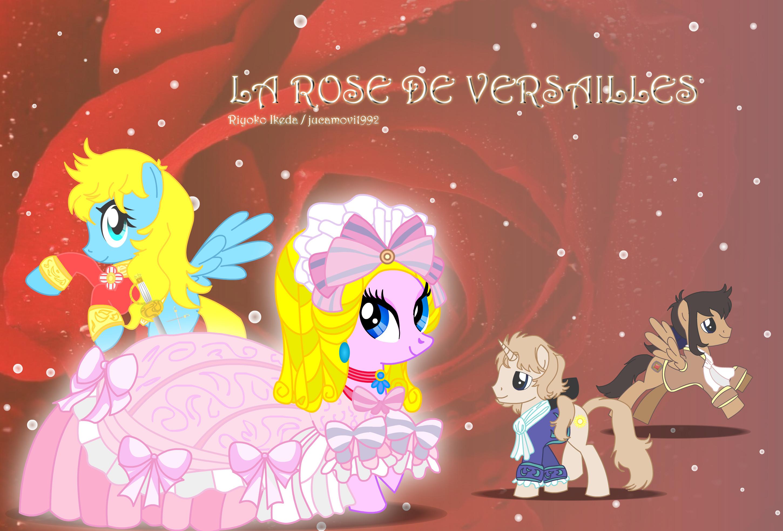 La Rose de Versailles by jucamovi1992