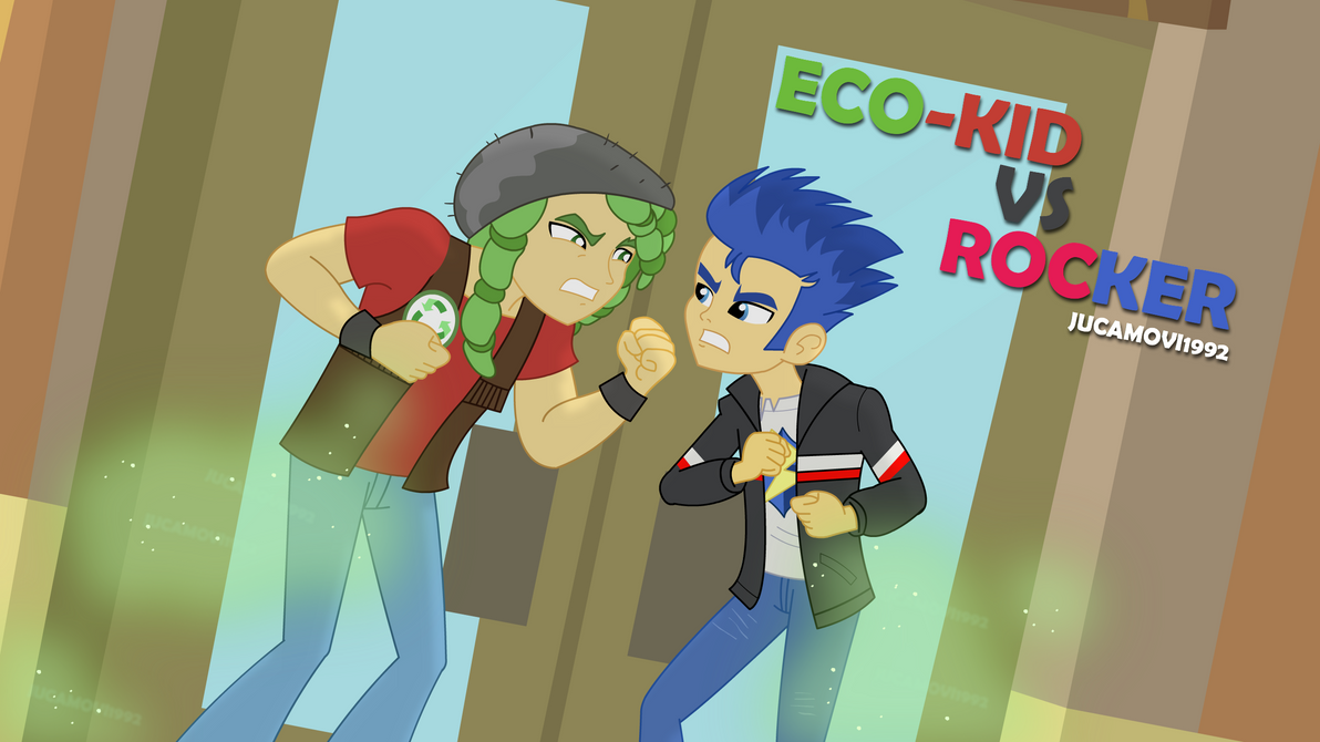 Eco-Kid vs Rocker by jucamovi1992