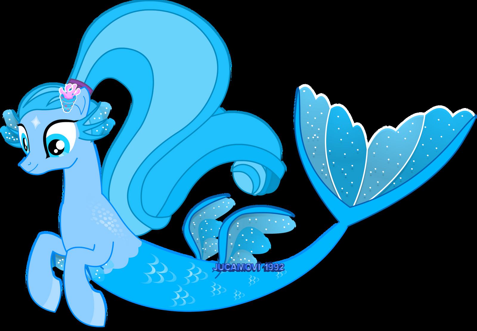 Mermaid Pony_Piscis by jucamovi1992